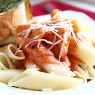 Penne with Spicy Vodka Sauce