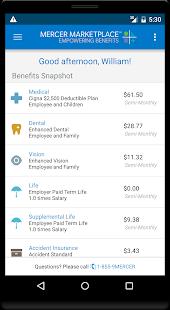 Mercer Marketplace 365 Benefits - náhled