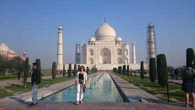 Photo: taj mahal, agra, uttar pradesh ~ http://jarogruber.blogspot.de/2016/02/northern-india.html