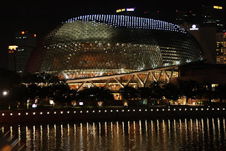 Photo: Year 2 Day 135 -  The Performing Arts Centre (Looks Like a Durian Fruit)