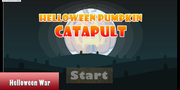 Halloween Pumpkin Catapult - náhled