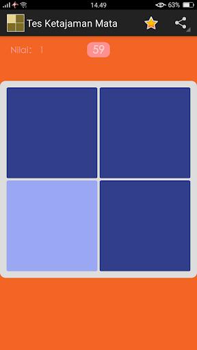 Tes Ketajaman Mata - Tes Buta Warna 1.0 screenshots 3