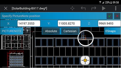 CorelCAD Mobile Screenshot