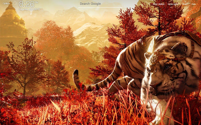 Far Cry 4 Game Fullhd New Tab Wallpapers