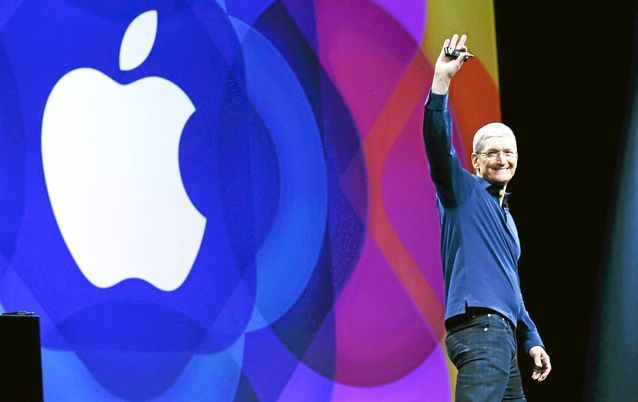 Apple CEO Tim Cook. Picture: REUTERS