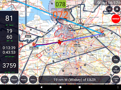GPS Air Navigator- screenshot thumbnail