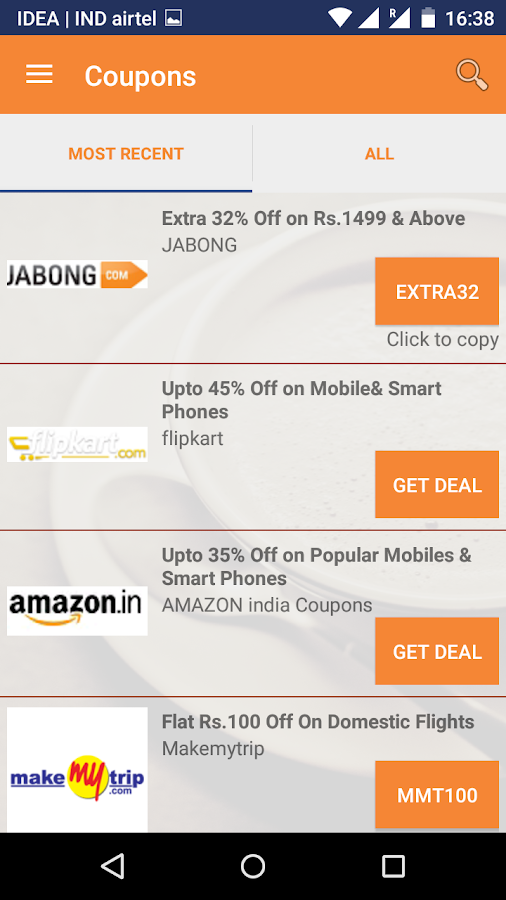 CouponDekho - Promo & offers- screenshot