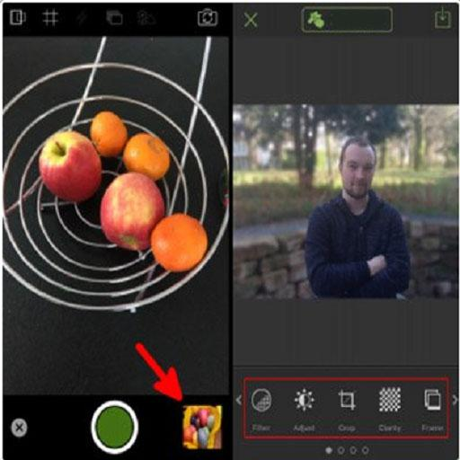 Editing – TADAA App Test Advice screenshot 1