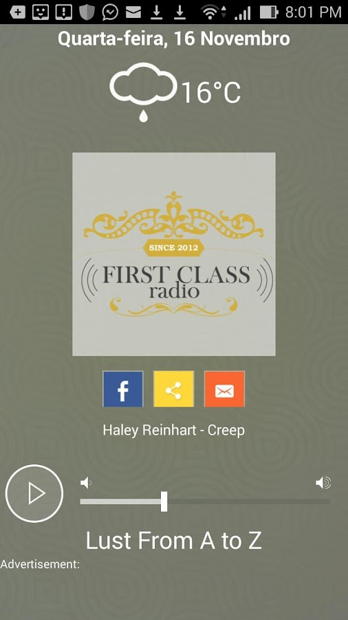 First Class Radio- screenshot