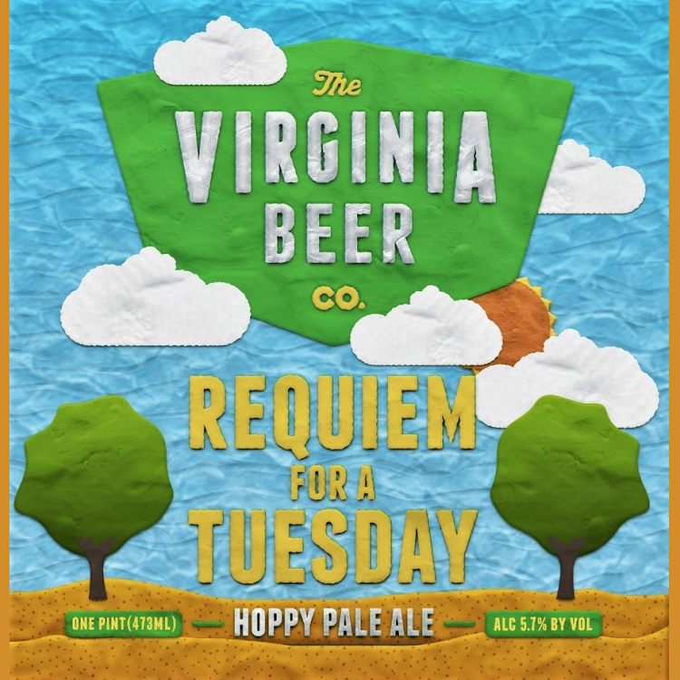 Logo of Virginia Beer Co. Requiem for a Tuesday