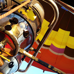 Hot air ballooning  by Alette Bester - Transportation Other ( #air #balloon #travel #hot #sunny )