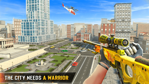 New Sniper Shooter: Free offline 3D shooting games screenshot 11