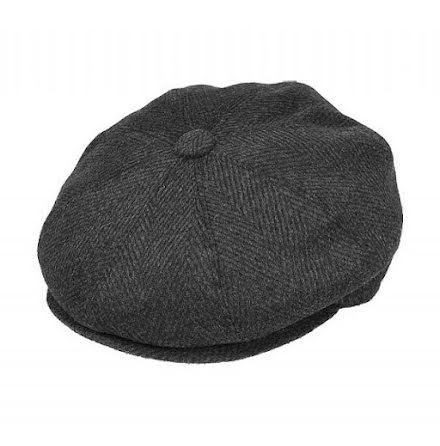Newsboy cap- grå
