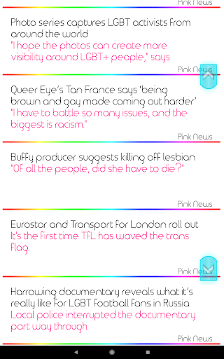 Scoop - Lesbian Gay News (LGBTQ) 2.0.17 screenshots 3