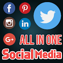 Social Media Network All in 1 icon