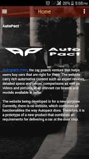 AutoPact - náhled