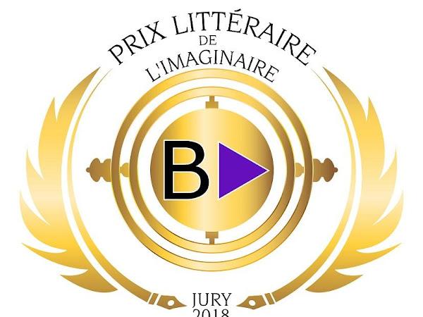 Prix littéraire de l'Imaginaire BooktubersApp 2018 #PLIB2018