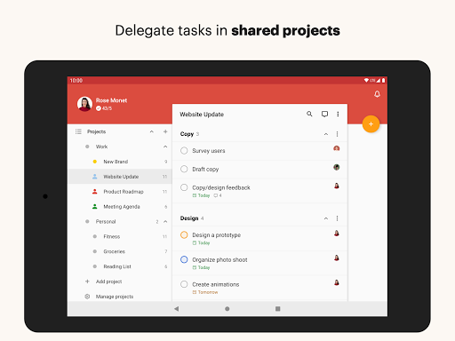 Todoist screenshot 9