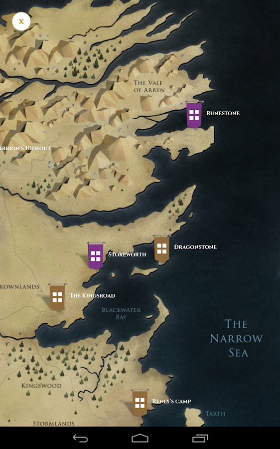 Game of Thrones NI Locations- screenshot