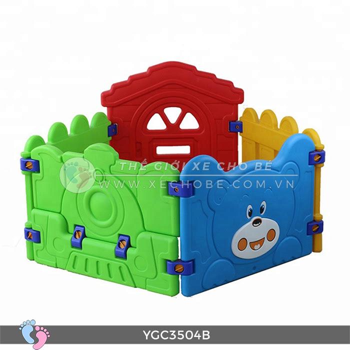 Nhà banh mini cho bé YGC-3504B 10