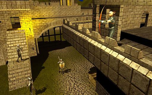 Bow Arrow Master: Castle War ( burgmauern )  screenshots 2