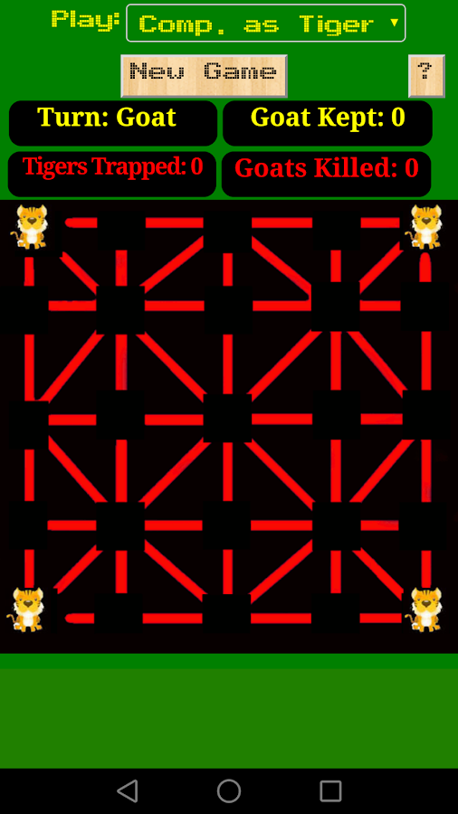 Baghchal Game- screenshot