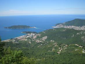 Photo: Montenegrian coastline near Budvar