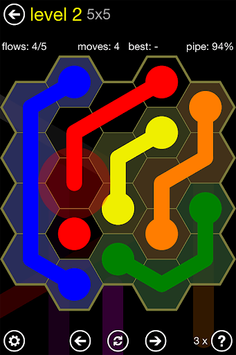 Flow Free: Hexes screenshot 5