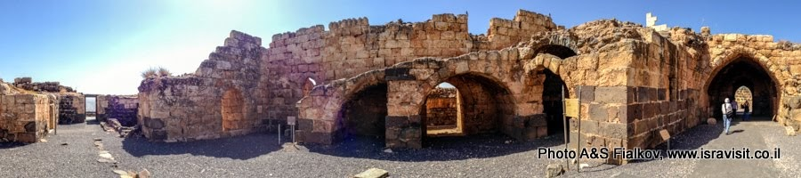 Экскурсия в Галилею. Крепость Кохав Ярден.