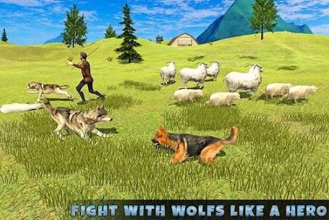 Real Dog Shephard World SIM - náhled