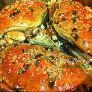 Crabs in Spicy Garlic & Butter Sauce