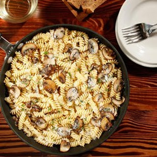 Greg's Special Rotini with Mushrooms