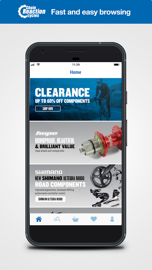 Chain Reaction Cycles is a leading online cycle retailer selling an extensive range of cycling components, accessories, clothing and bikes to MTB, road and BMX enthusiasts in more than countries worldwide, delivering the level of service, range, expertise and value that has led the way in cycling eCommerce/5(K).