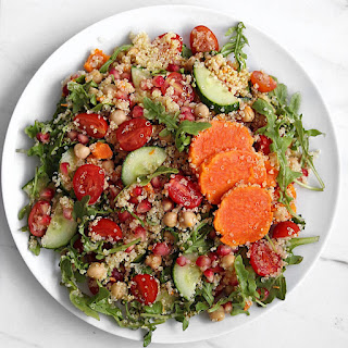 Vegan Sweet Potato Quinoa Salad.