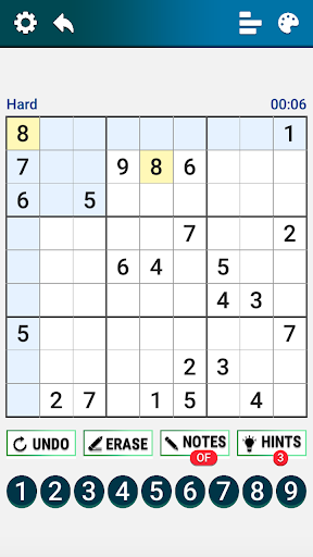 Classic Sudoku : Free Logic Number Puzzle Game apkdebit screenshots 3