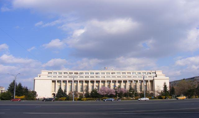 Headquarters of Romanian Government on Victoria Avenue