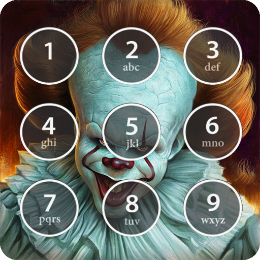 Scary Pennywise Lock Screen