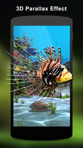 3D Aquarium Live Wallpaper HD 1.6.2 screenshots 1