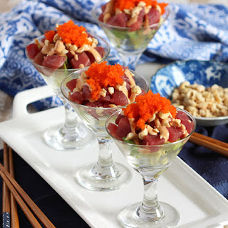 Spicy Tuna Sundaes