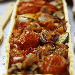 Mixed Vegetarian Pastry Tart