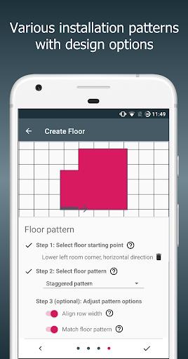 Floor Calculator: Plan & install flooring 1.1 screenshots 8