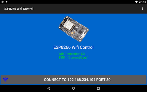 ESP8266 WiFi Control Device- screenshot thumbnail