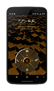 24K Four Key Go Locker Theme- screenshot thumbnail