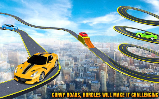 Crazy Car Impossible Track Racing Simulator 2 1.0 screenshots 1