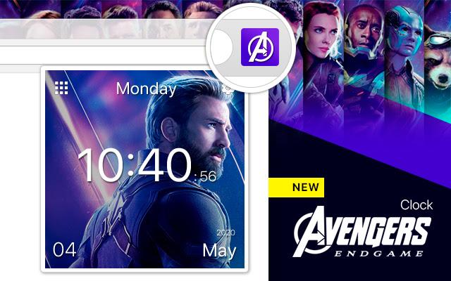 Avengers Endgame Clock ™