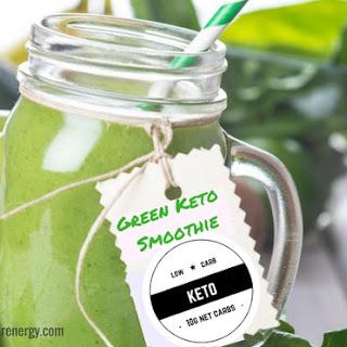 Green Keto Smoothie.