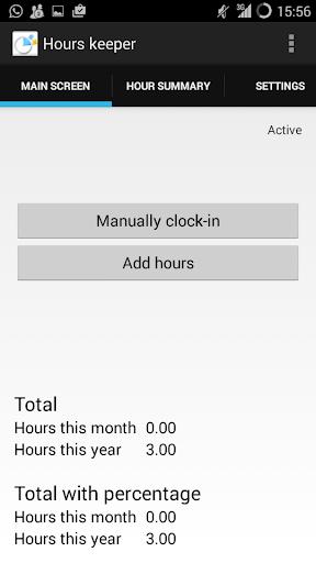 Hours keeper