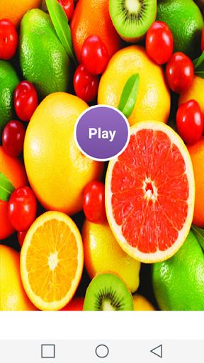 フルーツの記憶ゲームを食べます
