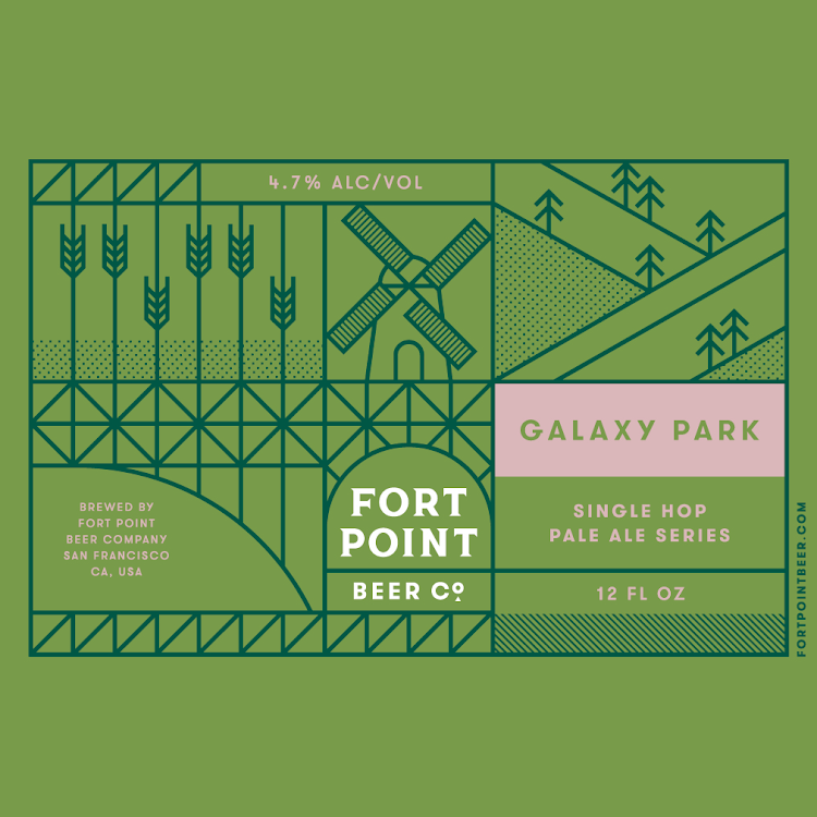 Logo of Fort Point Galaxy Park