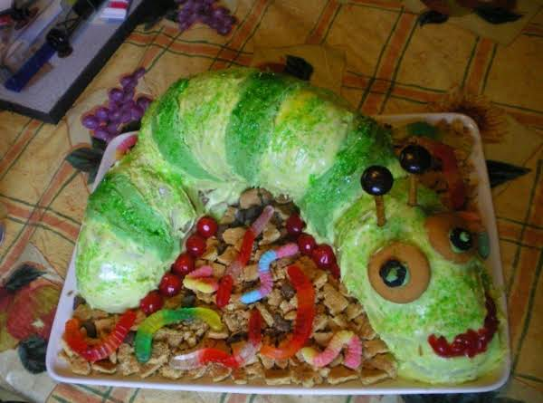 Inchworm Cake Recipe